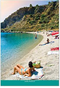 CARTOLINA-SPIAGGIA-DI-TONO-A-MILAZZO-MARE-SEA-BEACH-SICILIA-SICILY-POSTCARD