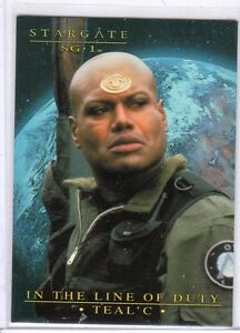 Stargate SG-1 Season Seven In the Line of Duty Teal/'c Chase Card Set