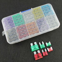 120Pcs 5A-30A Assortment Low Profile Micro Mini Blade Fuse Set Kit For Car Truck