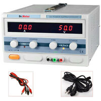 Dr.meter 50v 20a Linear Dc Power Supply Regulated Precision Variable Hy5020e