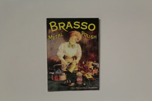 DOLLS HOUSE Metal Sign BRASSO = metal polish