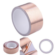 10m×50mm Adhesive Copper Foil Tape EMI Shield Tape one-side Conductive