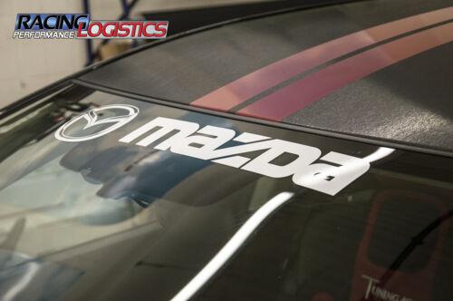 Windshield Mazda MPS Decals Stickers Vinyl RX-7 RX-8 MX-5 Miata CX5 CX7 Xedos 6