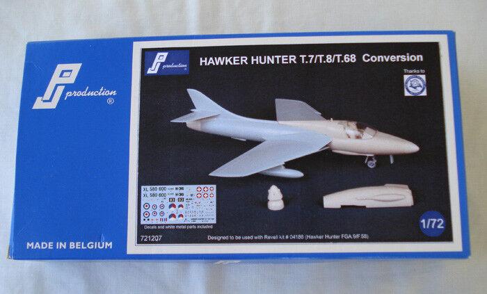 HAWKER HUNTER T.7 T.8 T.8 T.8 T.68 - PJ Conversion 1 72 resin KIT for Revell FGA9 Mk 58 cb57b6