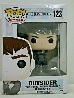 POP Games Dishonored 2 Outsider Vinyl Action Figure New In Box Funko