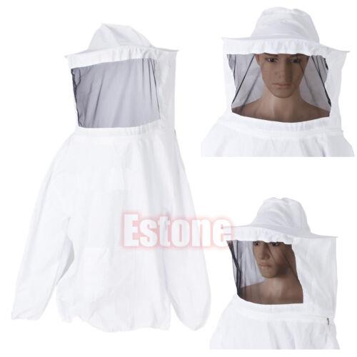 Veil Bee Keeping Suit Hat Pull Over Smock Beekeeping Jacket Protective Equipment
