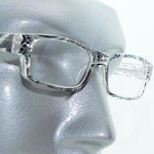 Reading Glasses Sharp Ink Style Tattoo Graffiti Frame +1.00 Clear Black
