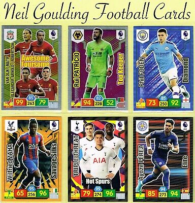 Panini Premier League adrenalyn XL 2019//2020 ☆ édition limitée ☆ Football Cartes