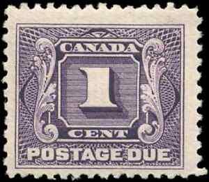 Canada-J1-mint-F-VF-OG-H-1906-First-Postage-Due-1c-violet-CV-25-00