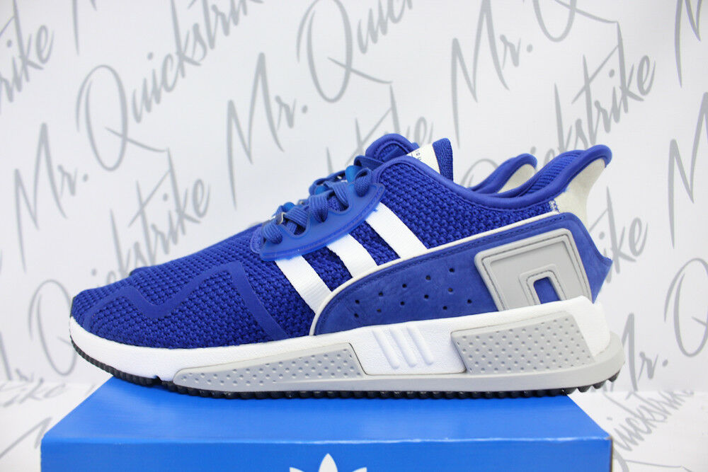 ADIDAS ORIGINALS EQT CUSHION ADV SZ 8.5 COLLEGIATE ROYAL BIANCA KNIT CQ2380