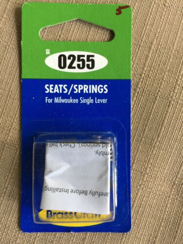 NEW BRASSCRAFT SL0255 FAUCET REPAIR KIT SEATS SPRINGS FOR MILWAUKEE SINGLE LEVER