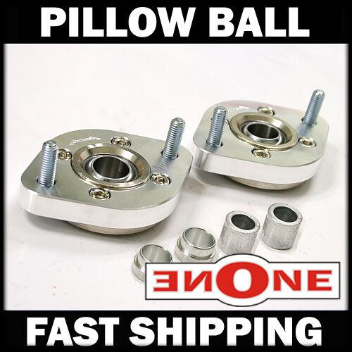 MK1 Pillow Ball Rear Upper Plates BMW E30 E34 E36 E46 4 Coilover Kit Strut Mount