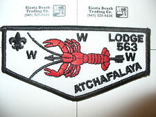 OA Atchafalaya Lodge 563, S-31,2001,6 Legs Crawfish Flap,Evangeline,Lafayette,LA