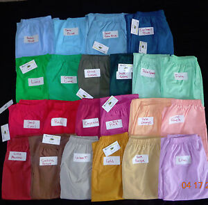 New Scrubeez Women/'s Easy Fit Pull on Pants Scrubs Medical Uniform Sz XL Regular