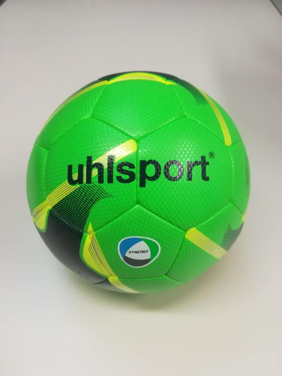 Uhlsport 290 Ultr Lite Lite Lite SYNERGY Größe 4 Ball eisblau schwarz fluo gelb 1001671  | Überlegene Qualität  5bc919