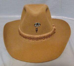 684f810e646 Image is loading Resistol-Stagecoach-S255-Dry-Gulch-Western-Felt-Cowboy-