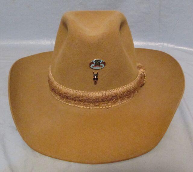 Resistol Stagecoach S255 Dry Gulch Western Felt Cowboy Hat Tan Bark Size 6  7 8 for sale online  82207c40a4f2