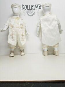 Blanco o beich Romper for baptism Ropones de niÑo para bautizo kid BOY white