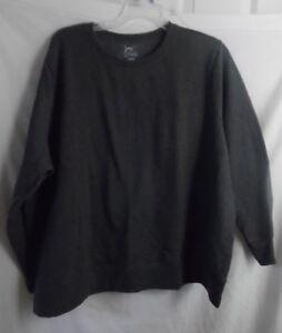 - 5X Just My Size JMS Fleece Top Sweatshirt Size 1X OJ098 32W 16W