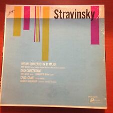 Stravinsky-Volin Concerto in D Major-Duo Concertant-LP