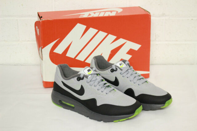 NEW: NIKE AIR MAX 1 ULTRA MOIRE SHOES MENS SIZE 7 WOLF GREY AUTHENTIC