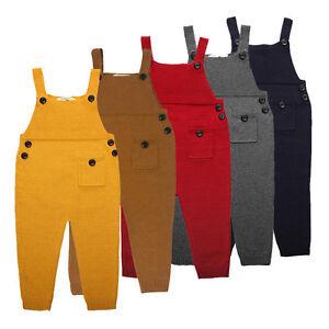 IT-Kids-Boy-Girl-Knit-Cotton-Bid-Pants-Jumpsuit-Overalls-Clothes-Dreamed