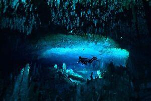 A1-Scuba-Diving-Poster-Art-Print-60-x-90cm-180gsm-Diver-Dive-Cave-Caving-8100