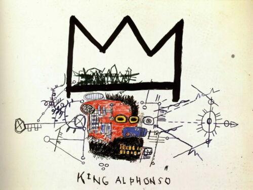 63253 Basquiat Wall Print POSTER AU