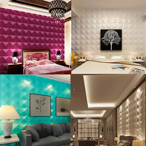 3D-Wall-Sticker-Colorful-Brick-Panels-Background-Decal-30-30cm-Waterproof-Design