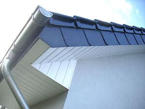 30 Stk Anthrazit Schindeln Dachplatten Kunststoff Fassadenplatten