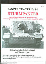 PANZER TRACTS # 8-1  Sturmpanzer     Jentz & Doyle new SB