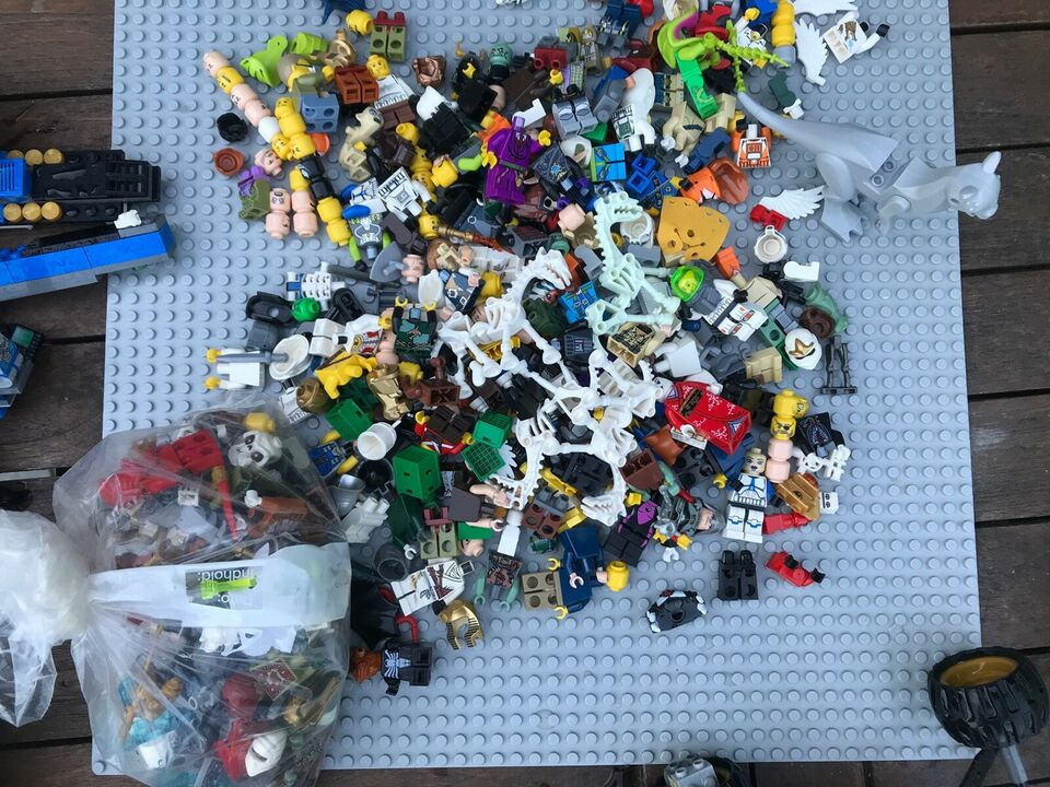 Lego andet, Mange forskellige
