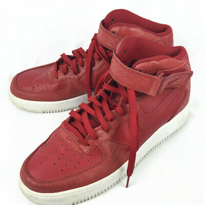 "Nike Air Force 1 Mid ""Red Python"" Customs for FourTwoFour on"