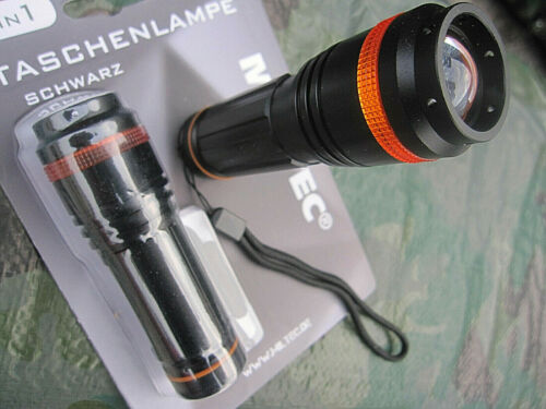 2 X CREE LED Zoom Focus Torcia Tattica di tempesta
