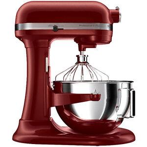 Kitchenaid Stand Mixer 450-W 5-Qt Large Pro RKv25goxgc Gloss ... on emerson mixer red, 5 qt kitchenaid mixer red, kitchen aid range red, kitchen aid food processor red, kitchen aid coffee maker red,