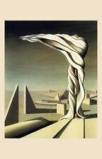 J'Ai Vu Trois Cites, 1944 Art Poster Print by Kay Sage, 11x17