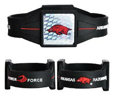Arkansas Razorbacks Power Force Ion Wrist Band (NEW) Bracelet - Medium Wristband