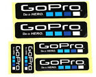 New 6Pcs Icon Logo Stickers Decal for GoPro Hero 4 3+ 3 2 1 Sports Camera Go pro
