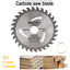 thumbnail 3 - 125mm Circular Saw Blade Carbide Tipped 30T Wood Fine Cutting Grinder Disc TCT