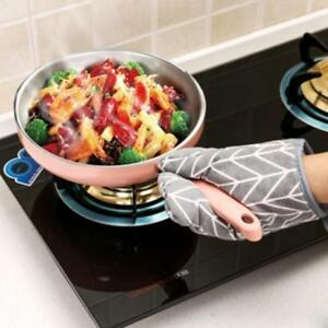 Kitchen, Dining & Bar Cotton Oven Mitt Heat Proof Resistant Protector Cooking Pot Holder Glove Modish Oven Mitts & Potholders