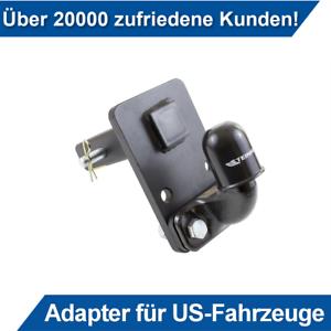 50x50mm AHK Für Dodge Ram Anhängerkupplung Adapter für US-Fahrzeuge Niveauregul