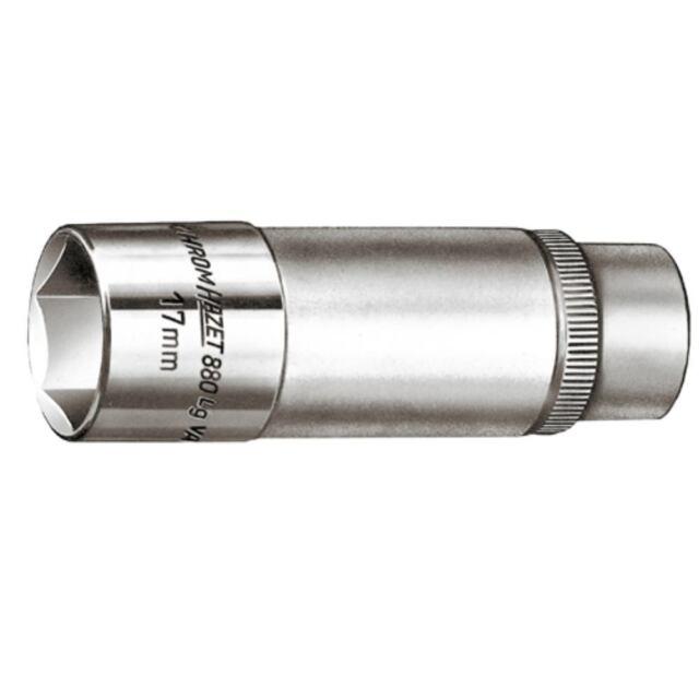 """HAZET Steckschlüsseleinsatz 17 mm 3/8"""" Zoll DIN 3124 lang"""