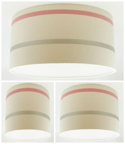 NEW Lampshade Handmade with Laura Ashley Draycott Stripe Cranberry Wallpaper