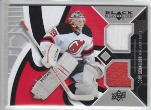 2014-15-UD-BD-CORY-SCHNEIDER-JERSEY-DUAL-GAME-USED-DOUBLE-Black-Diamond-Devils