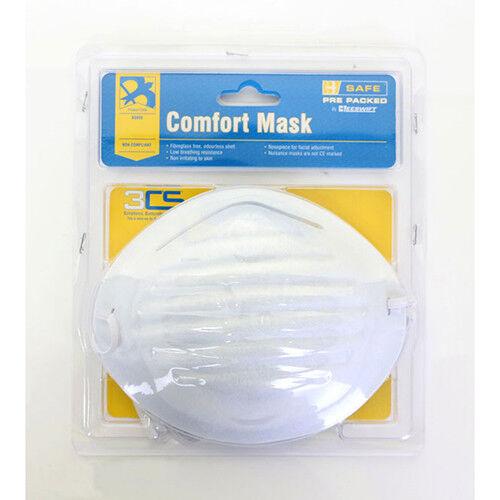 Comfort Dust Mask 50 Fiberglass free odourless non irritating flexible nosepiece
