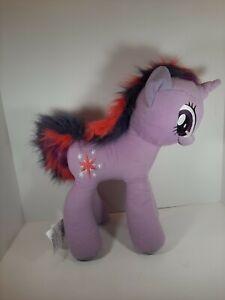 "My Little Pony Plush Stuffed Animal Twilight Sparkle Purple Unicorn 20""×16"""