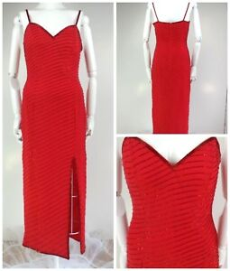 vintage 90s Cache spaghetti strap dress