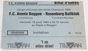 Ticket for collectors CL CL Avenir Beggen Rosenborg Trondheim Luxembourg Norway - Internet, Polska - Ticket for collectors CL CL Avenir Beggen Rosenborg Trondheim Luxembourg Norway - Internet, Polska
