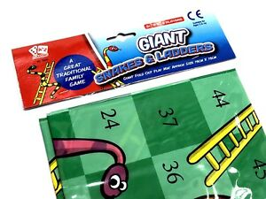 GIANT-SNAKES-amp-LADDERS-PLAYMAT-OUTDOOR-GARDEN-GAME-PARTY-TOY-BIRTHDAY-GIFT