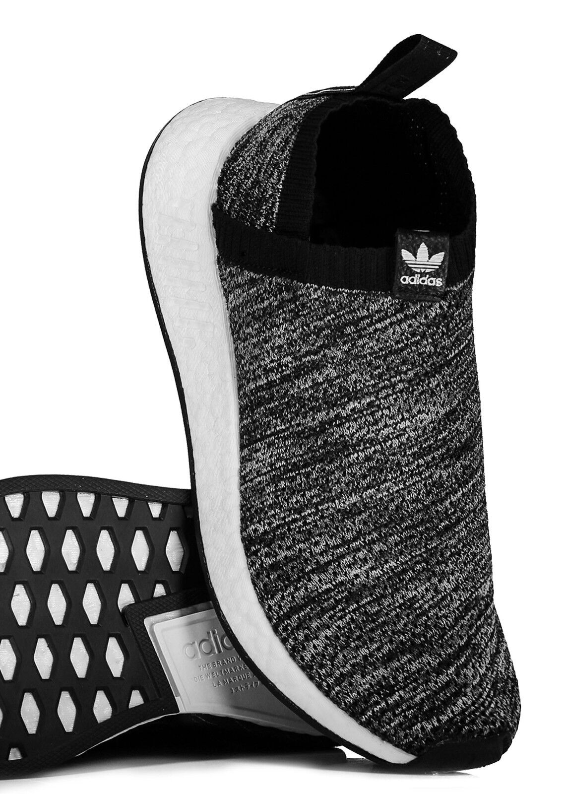 Adidas Originals NMD CS2 PK PK PK UAS Trainers UK 8.5 Limited Edition NEW BOXED B&W 78a73c